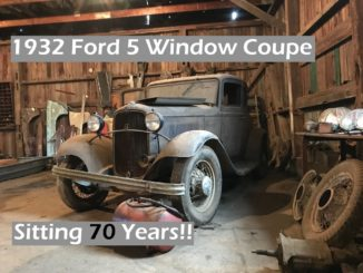 Estate Auction Adventure ~ 1932 Ford Coupe Barn Find