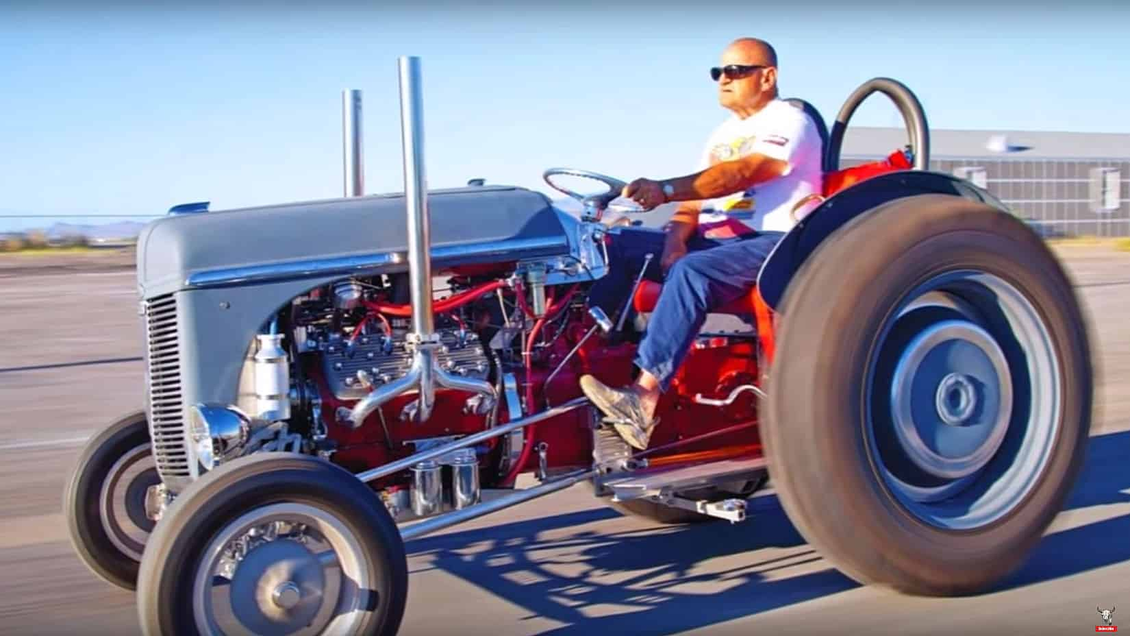 Hot Rod And Drag Racing Tractor Compilation