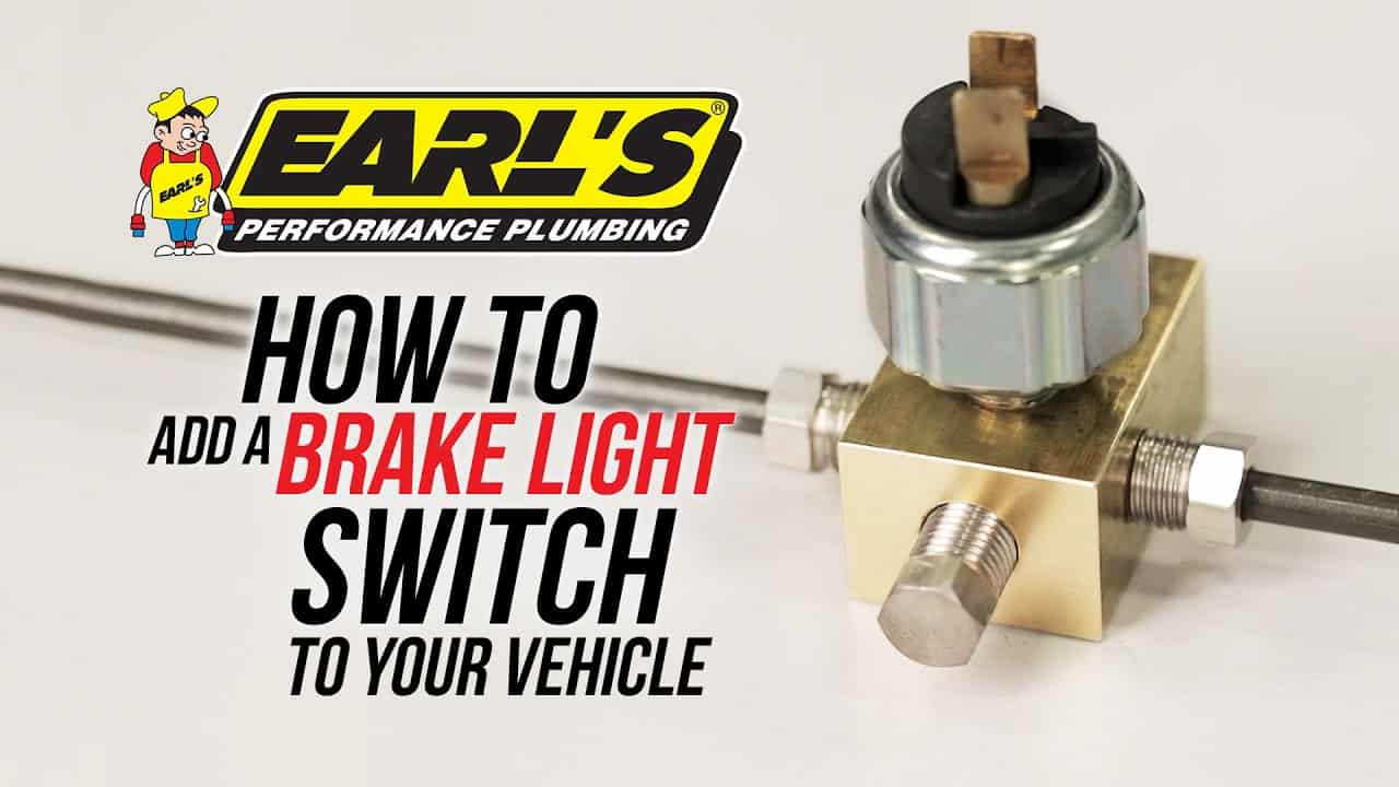 Chevy Ford Chrysler Low Pressure Hydraulic Brake Light Switch Street Hot Rod