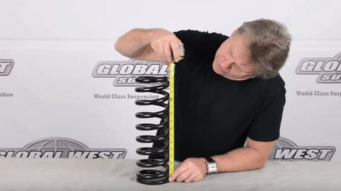 How To Cut GM Coil Springs To Drop Your Ride