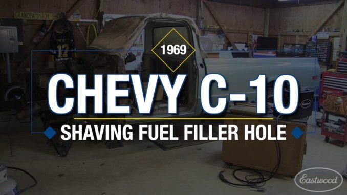 How To Shave/Fill a Gas Cap Filler Neck on a Chevy C10 Truck