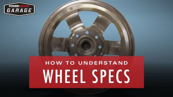 How To Understand Wheel Specs