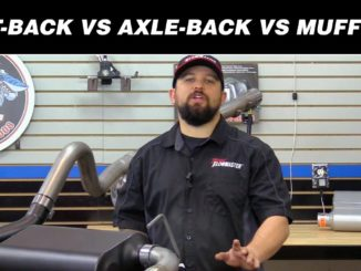 How to Choose Between Cat-back vs. Axle-back vs. Muffler Exhaust Systems