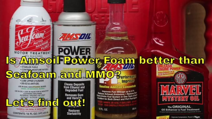 Is Amsoil Power Foam Better Than Seafoam or Marvel Mystery Oil