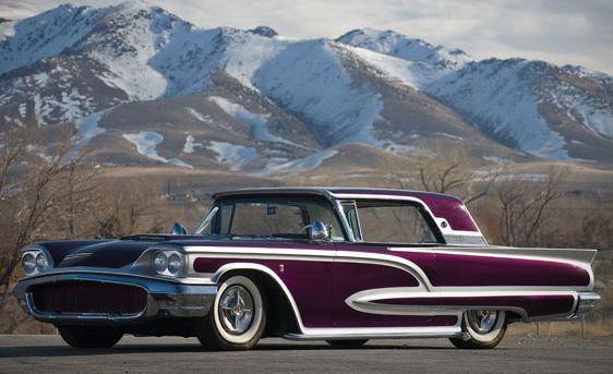 "Larry Watson's 1958 Thunderbird ""Vino Paisano"""