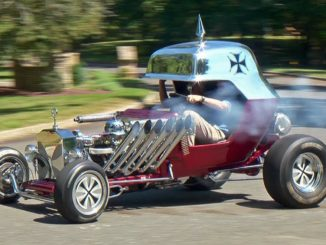 Life Size Hot Wheels Cars ~ The Red Baron