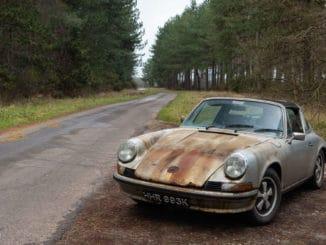 Preserved, Not Pristine ~ 1972 Porsche 911S Targa