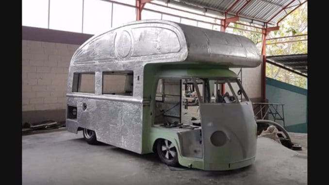 Volkswagen Split Window Camper Van Build