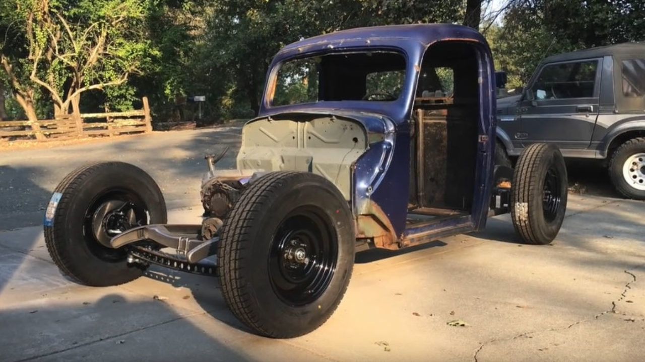 Build A Ford Truck >> 1938 Ford Truck Build