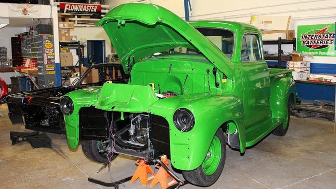 1955 Chevrolet 3100 1st Series Pickup Truck Build