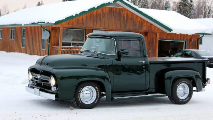 1956 Ford F100 RestoMod Pickup Truck Project