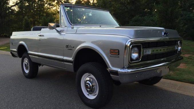 1970 Chevrolet K5 Blazer CST 350 4x4