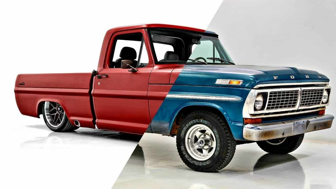 1970 Ford F100 Restomod Muscle Truck Build Classic Car Studio