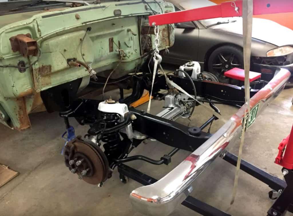 Crown Vic Swap Steering Parts