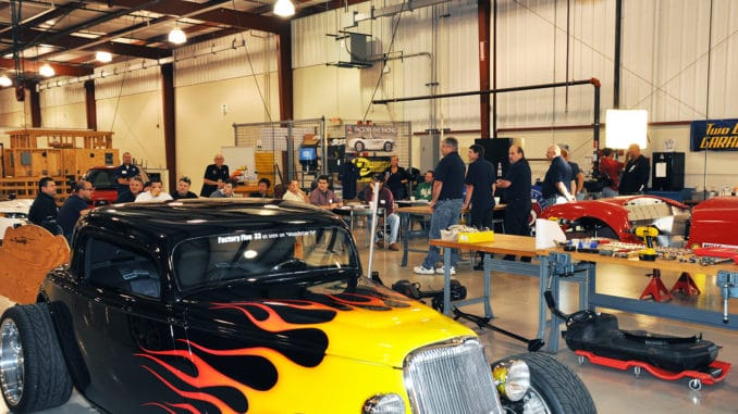 Factory Five Build School