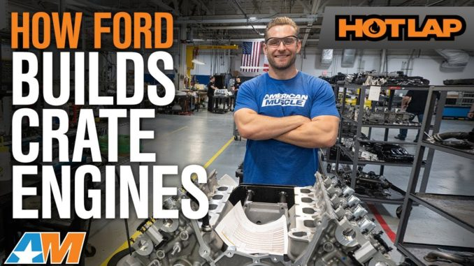 How Ford Performance Hand Builds Coyote V8s and Ford GT V6 Engines