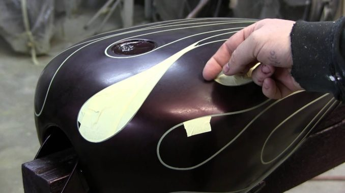 How To Airbrush Ghost Flames with James Scott
