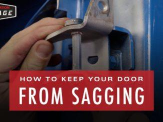 How To Fix Sagging Doors