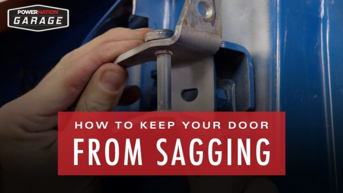 How To Fix Sagging Doors