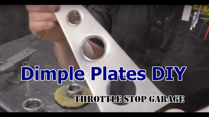 How To Make Dimple Dies for Sheet Metal