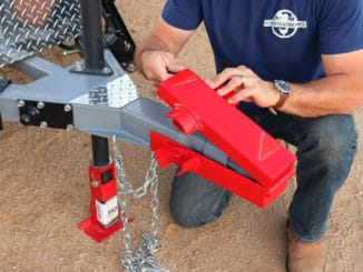 How To Make a DIY Trailer Hitch Lock