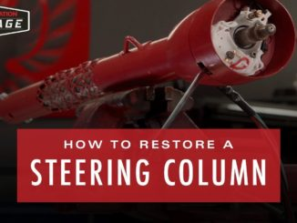 How To Restore A Steering Column