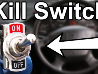 How to Install a Hidden Fuel Pump Kill Switch