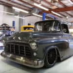 Sinister '56 Chevy Smokin' Burnout in 1,000 HP Pickup