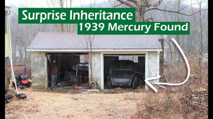 Surprise Inheritance 1939 Mercury Coupe Found