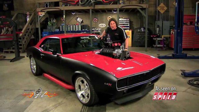 The Cherry Bomb '68 Camaro