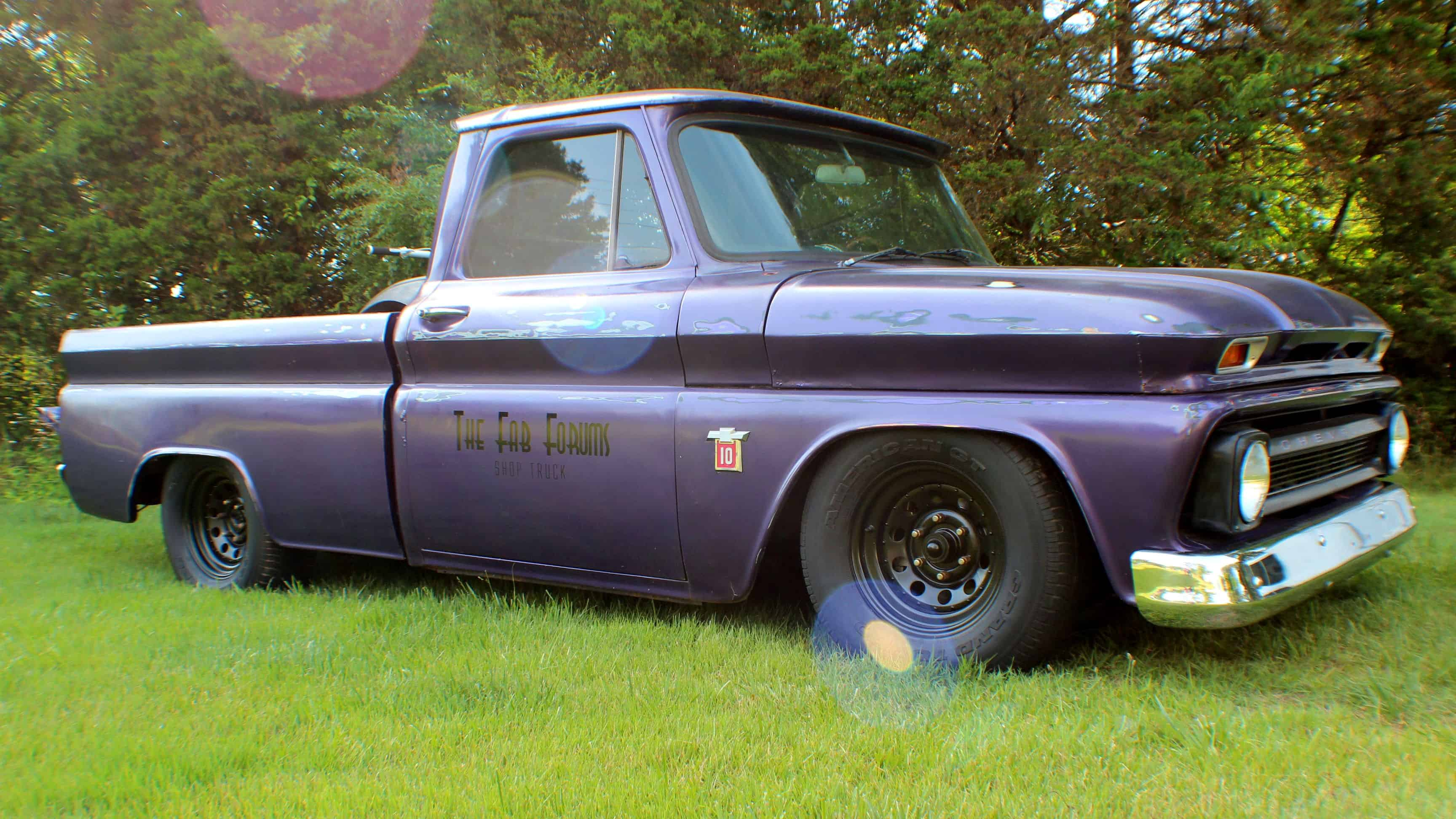 Crown Spoyal 1964 Chevrolet C10 Shop Truck Build The Fab Forums
