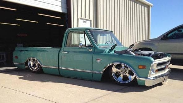Tiffany ~ 1968 Chevrolet C10 AccuAir Air Ride Project