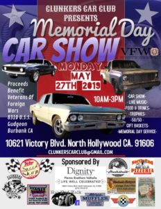 Clunkers Car Club Memorial Day Car Show 2019 @ Pierce Brothers Valhalla | Los Angeles | California | United States