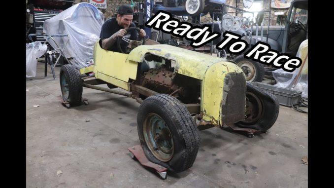 Homemade Dirt Race Car