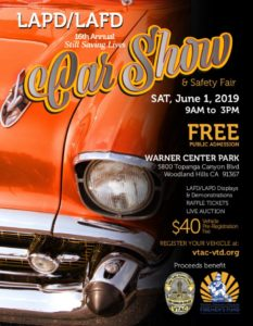 16th Annual Car Show & Safety Fair @ Warner Center Park | Los Angeles | California | United States