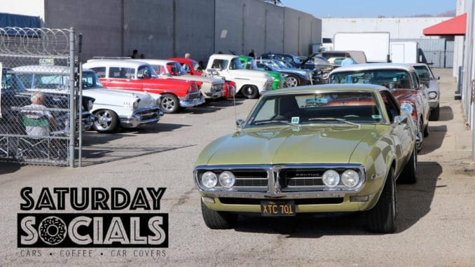 Saturday Socials 2019 at California Car Cover