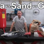 Soda vs Sand vs Glass Media Blasting