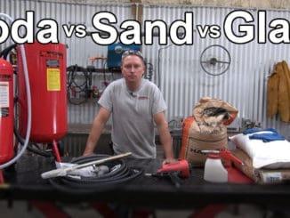 Soda vs Sand vs Glass Media Blasting