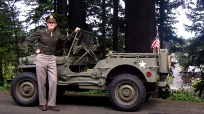 The Restored Laney Family 1944 Willys MB Jeep