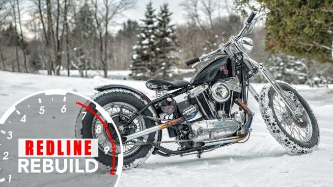 Rebuilt 1957 Harley-Davidson XL Sportster