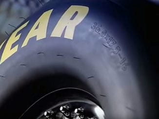Goodyear Dragster Tire