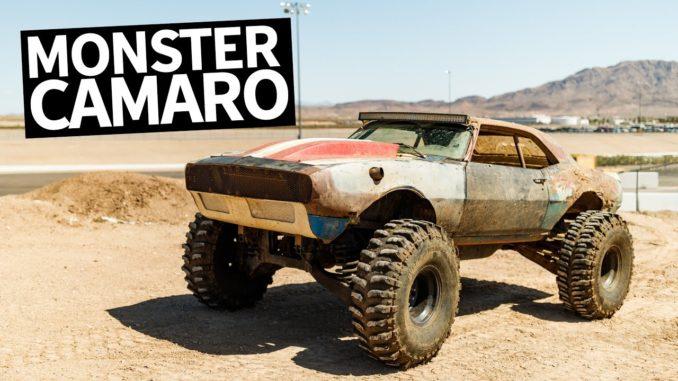 Monster Truck Chevy Camaro