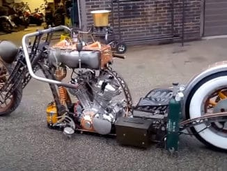 Rat Rod and Steampunk Motorcycles