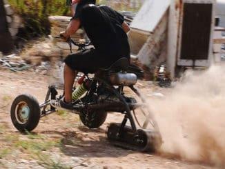 Track Drive Reverse Trike
