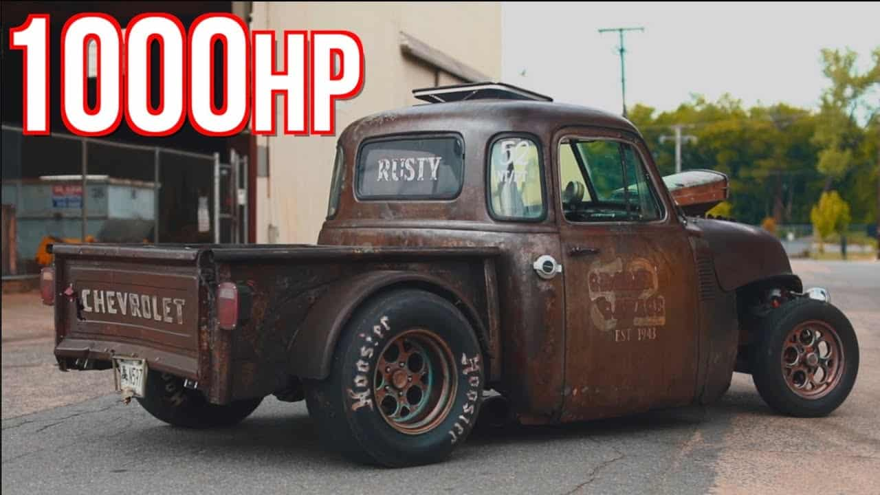 1 000hp Rat Rod Truck Built For Under 10k Gaps Everything