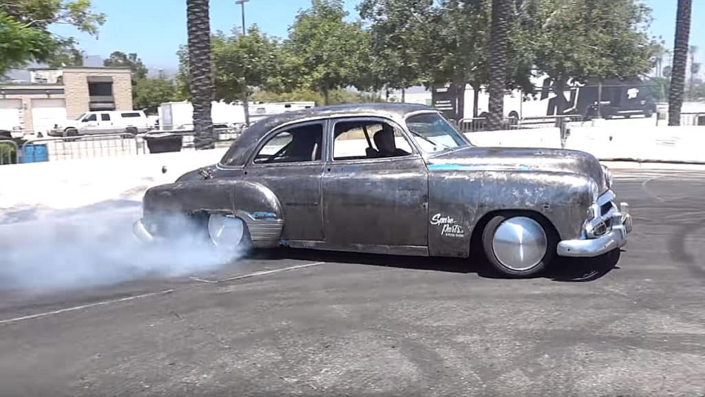 1951 Chevy with Lexus LS400 Chassis Swap