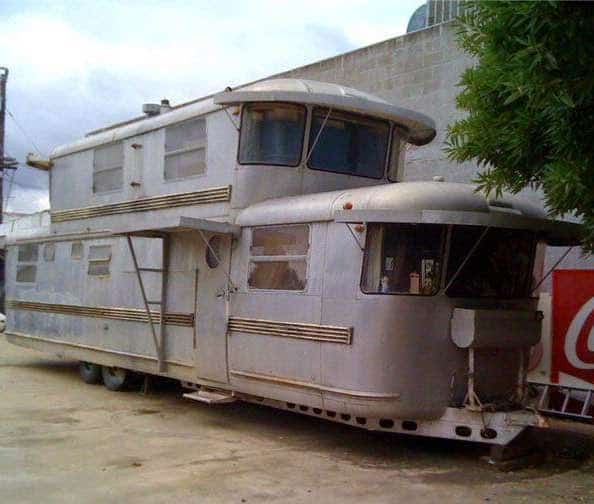 1953 Two-Story Spartan Manor Trailer