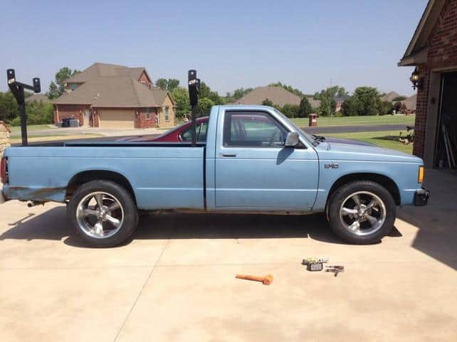 1985 Chevrolet S-10 Chassis Donor Truck