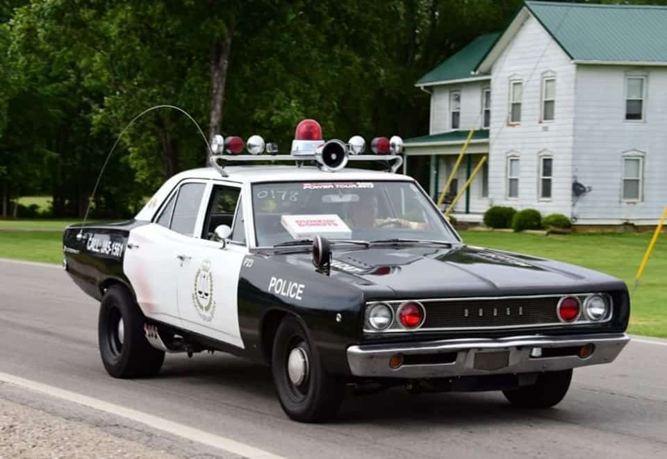 707HP Hellcat Powered Coronet Cop Car on the Road