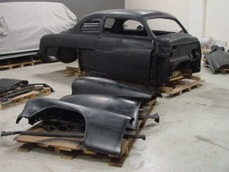 Doctor Detroits 1951 Mercury Eight Build - In Progress